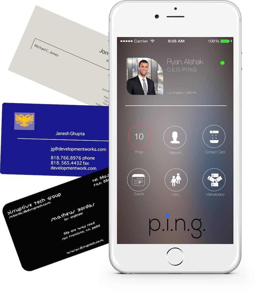Digitizing Business Cards