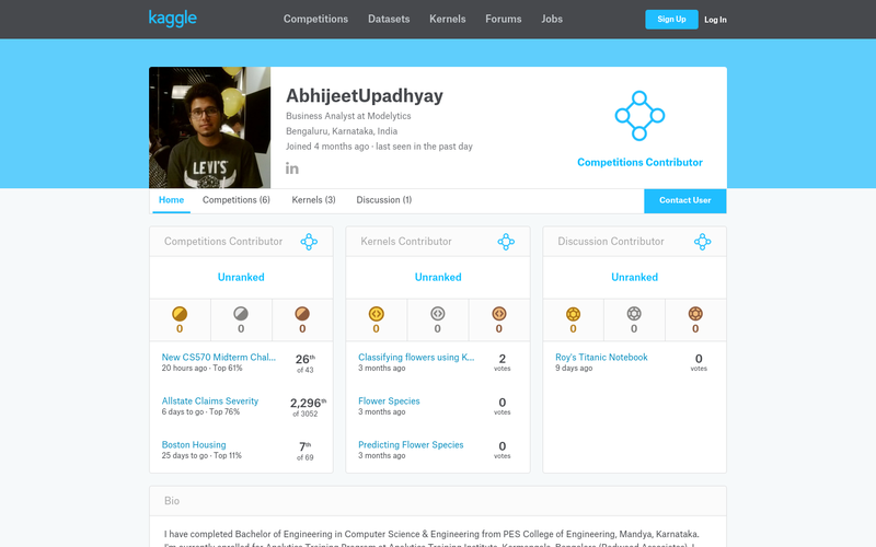Customer Retention Classifier - Kaggle | AngelList
