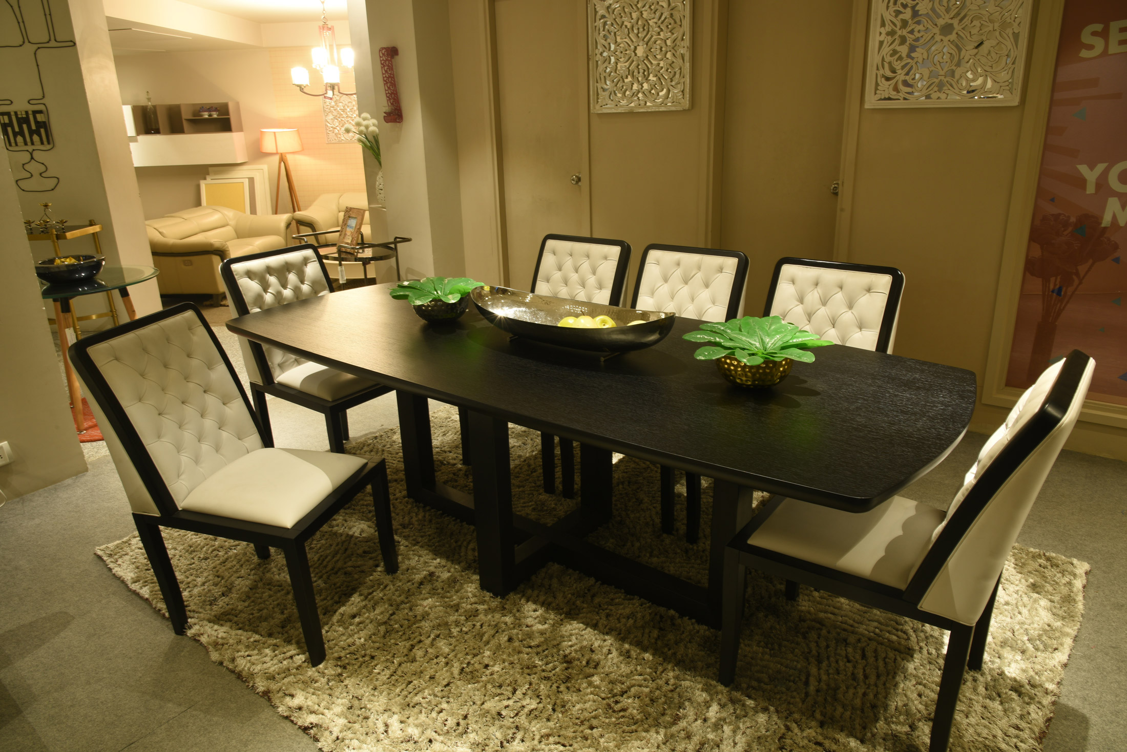 Dining room furniture for studio apartments in kirti nagar new delhi