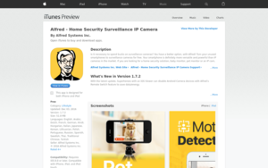 Home Security Camera - Alfred - Android Apps on Google Play