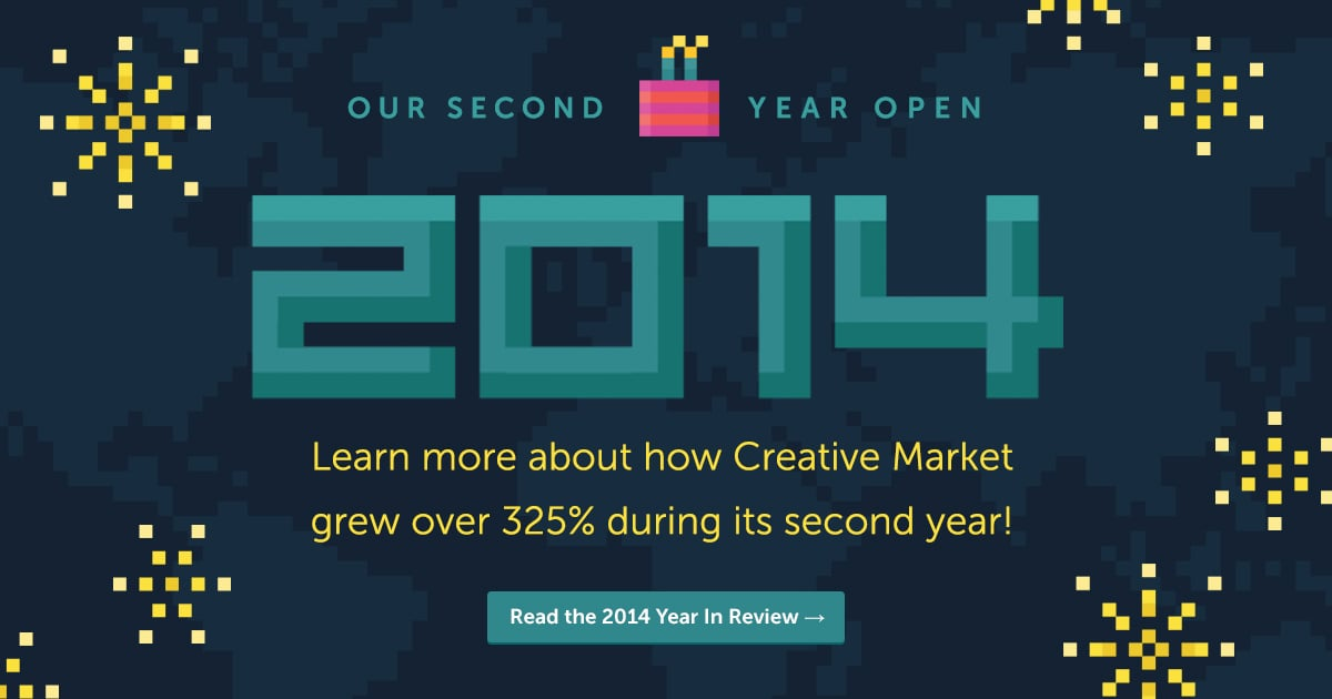 Creative Market's 2nd Year In Review