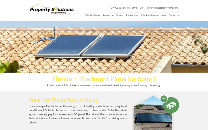 Solar Water Heater Panels Florida | Solar Water Heating