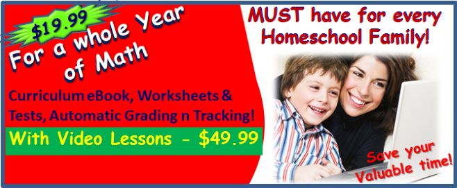 Homeschool Math Curriculum and Adaptive Math Placement Test with
