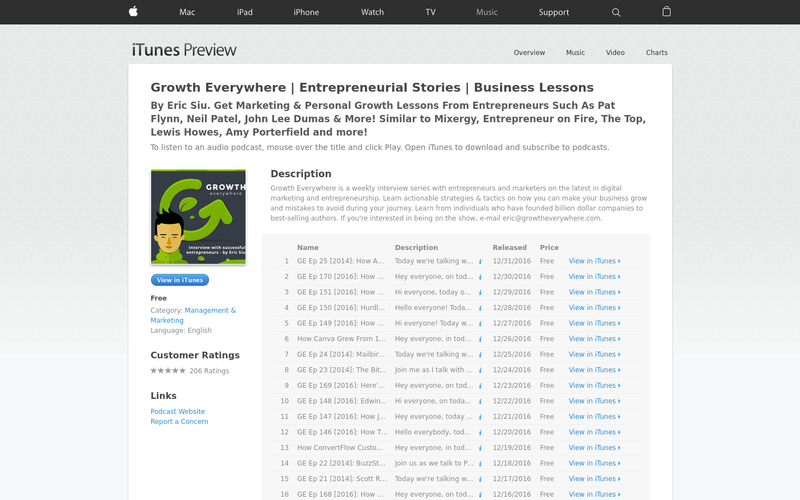 Growth Everywhere - Podcast