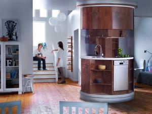 Delightful Home   Original Circle Kitchen Idea