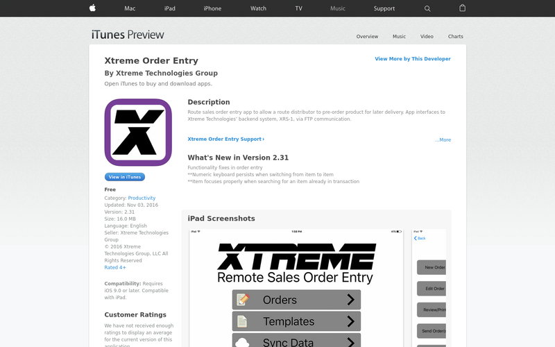 Wholesale Distribution Enterprise App