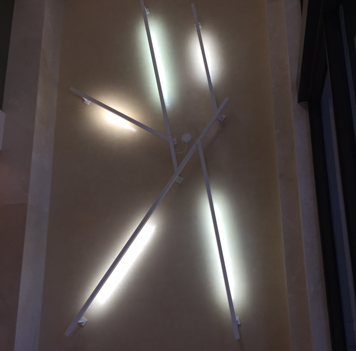 2222 Ponce Lobby Light