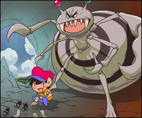 The Bosses Of Earthbound Pondly