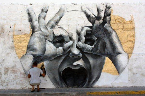 Cool Street Art By M E S A Pondly