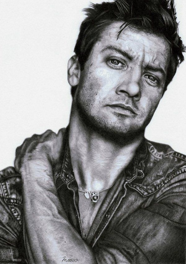 Realistic Celebrity Portraits In Pencil By Mitsuo2 Pondly