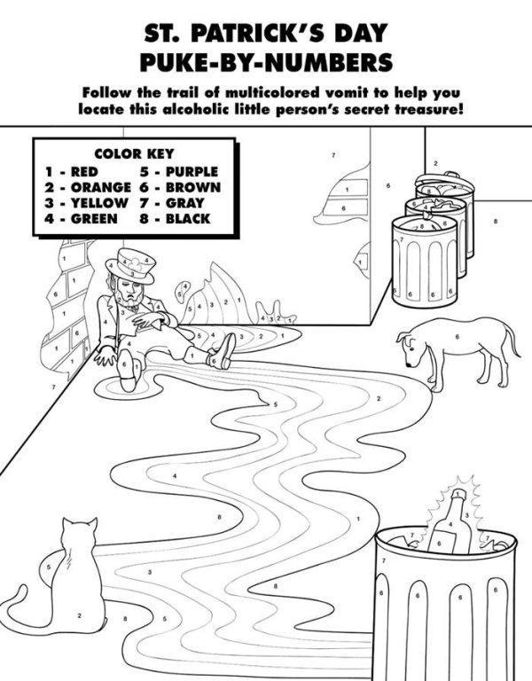 funny finished coloring book pages | Hilarious Coloring Books for Adults by Ryan Hunter and ...
