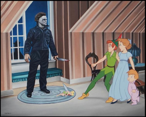 A Different Kind of Fairy Tale - Disney Characters by