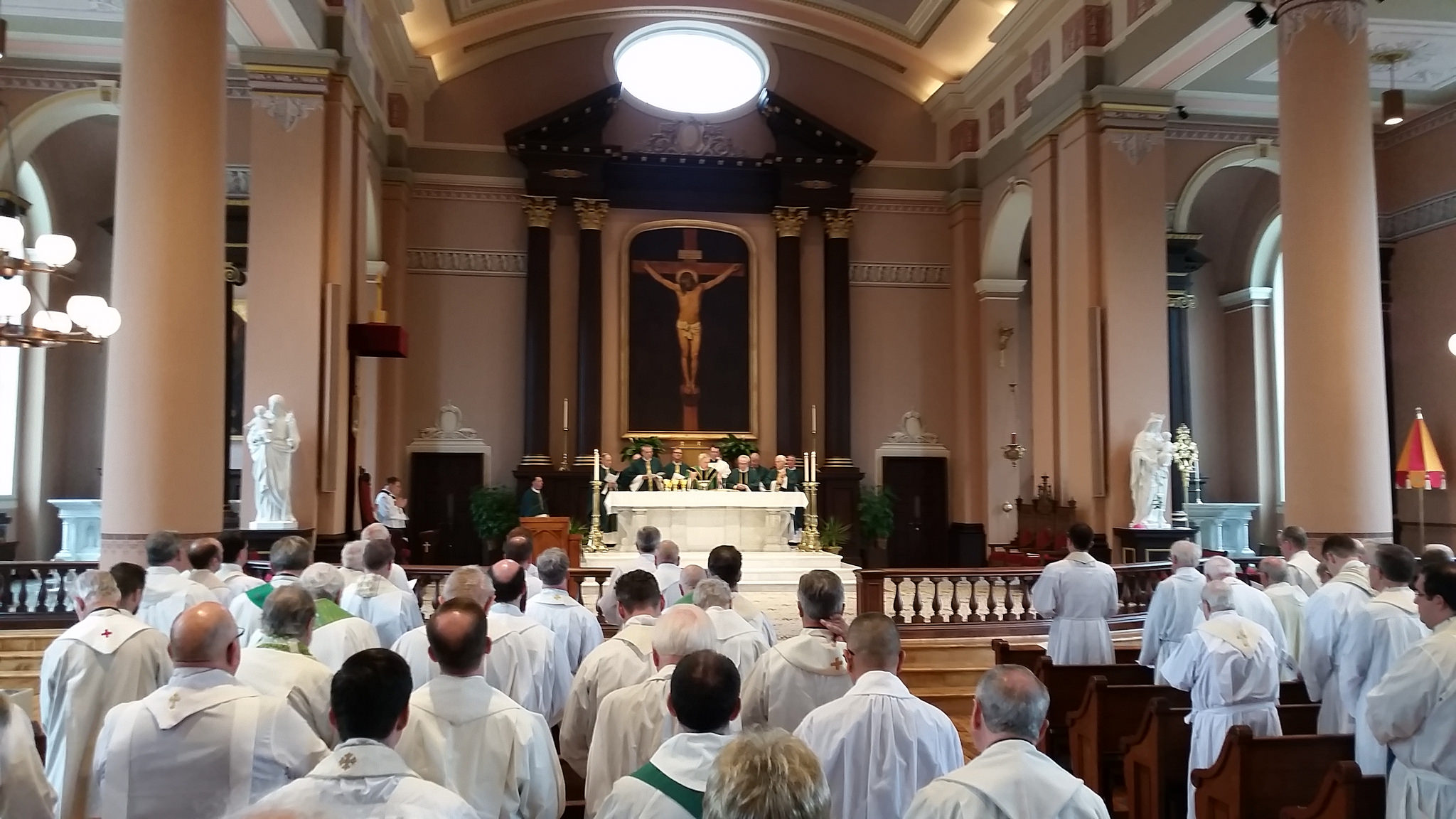 Mass at the Basilica of St. Louis