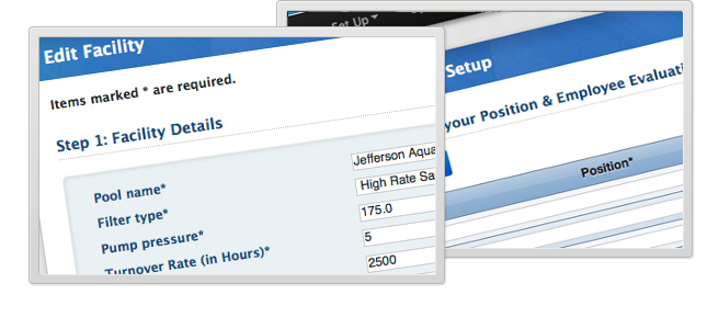 Pool management software poolmanager for Swimming pool management software
