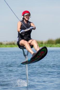 Airchairing on the Sacramento Delta