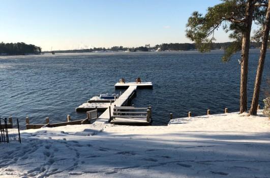 Not often we get snow in west Georgia