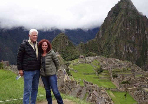 Wife Simone/Machu Picchu