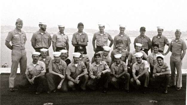 USS Kitty Hawk CV-63 pier at NAS North Island San Diego CA OC division