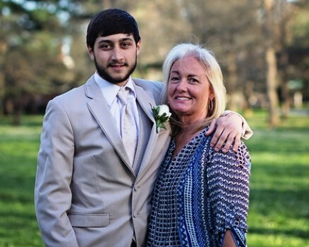 My Son and I his Prom