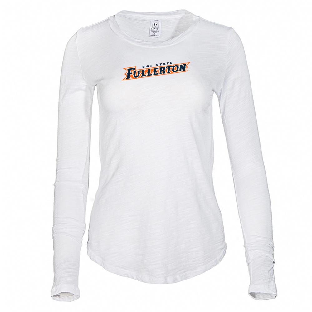e23dbde5 Details about Official NCAA CSUF Titans - RYLCSUF06 Women's Long Sleeve  Slub Tee Shirt