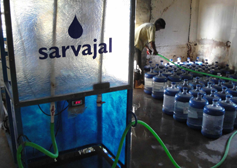 The Sarvajal clean water micro-infrastructure