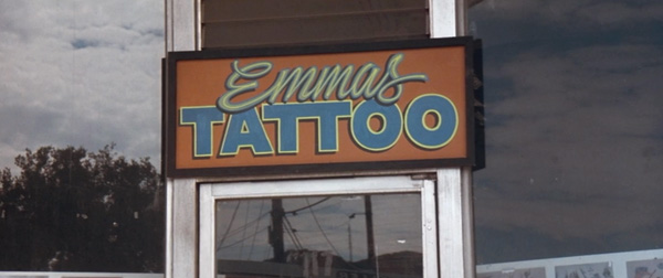 Emma 39 s tattoo parlor in los angeles memento movies at for Tattoo parlors in springfield mo