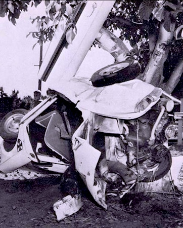 george lucas car crash in modesto : george lucas | movies at