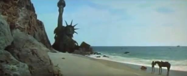 Westward Beach In Malibu Planet Of The Apes 1968