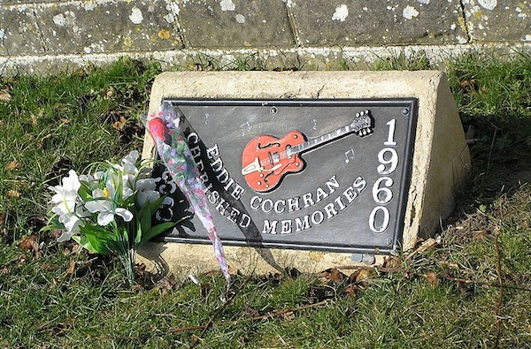 Image result for eddie cochran memorial marker -site:pinterest.com