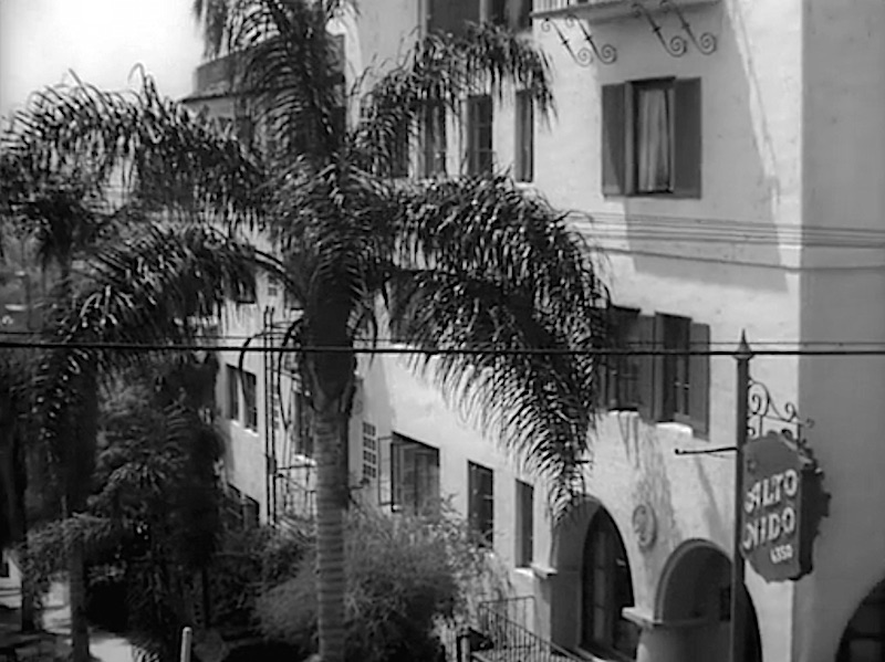 Alto Nido Apartments In Los Angeles Sunset Boulevard
