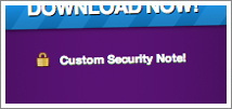 Custom Security Notes