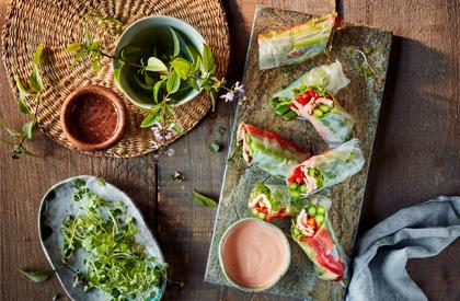 Photo de la recette de Rouleaux de printemps au porc
