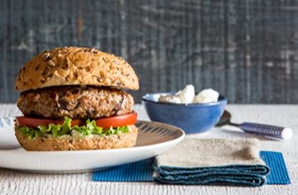 Photo de la recette de Burgers à la grecque