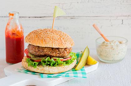 Photo de la recette de Burgers à la parisienne