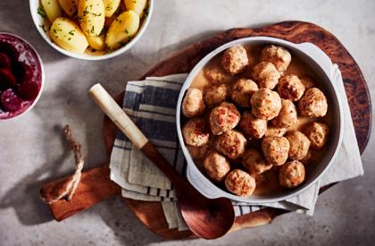 Photo de la recette de Ragoût de boulettes