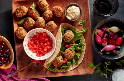 Photo de la recette de Falafels de porc