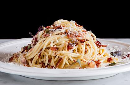 Photo de la recette de Spaghetti carbonara