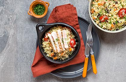 Photo de la recette de Porc et couscous