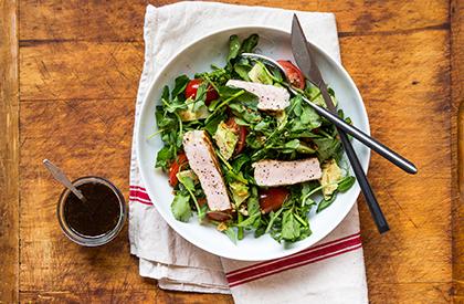Photo de la recette de Salade de porc californienne