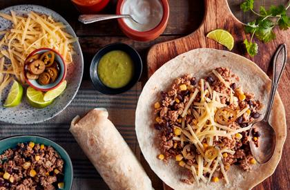 Photo de la recette de Burritos de porc