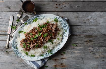Photo de la recette de Filet de porc braisé à l'asiatique