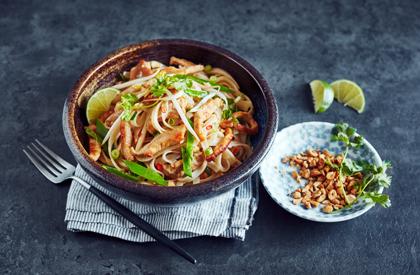 Photo de la recette de Pad thaï au porc