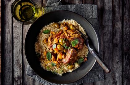 Photo de la recette de Porc aux olives