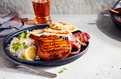 Photo de la recette de Porc tandoori