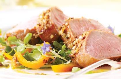 Photo de la recette de Filets de porc au citron et à l'anis