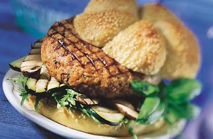 Photo de la recette de Burgers parmigiana