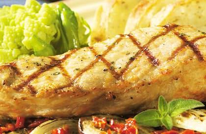 Photo de la recette de Steaks de porc aux saveurs d'Italie