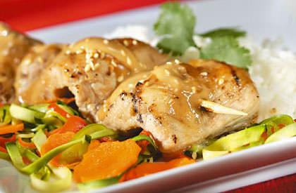 Photo de la recette de Brochettes de porc Satay