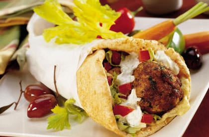 Photo de la recette de Burgers Falafel