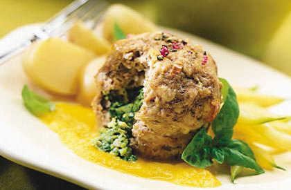 Photo de la recette de Mini-pains de viande à la Florentine